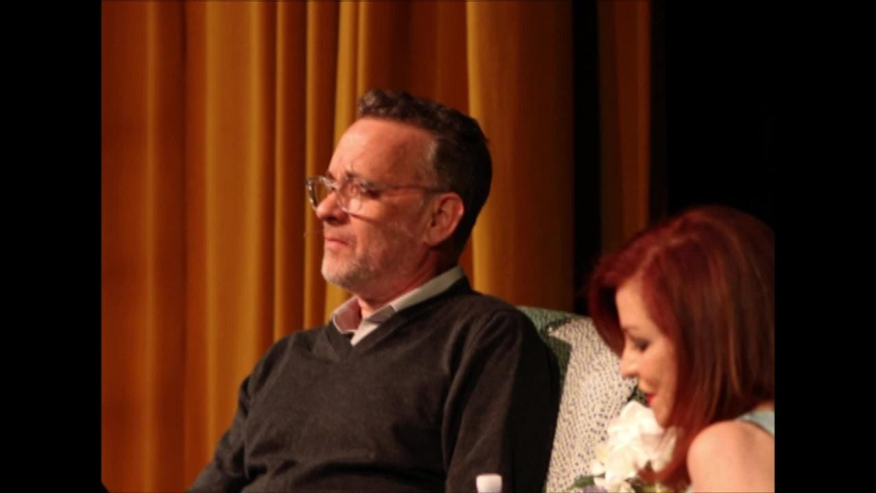 Award-winning actor Tom Hanks sits down with New York Times columnist Maureen Dowd for a Q&A at the 6th Annual Rancho Mirage Writers Festival.