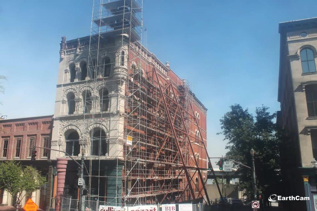 See a timelapse of construction on the new Michter's Fort Nelson distillery that is the newest addition to Louisville's Whiskey Row.