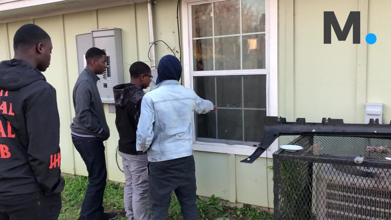 Jaylan Saunders was shot to death while he slept in a drive by shooting