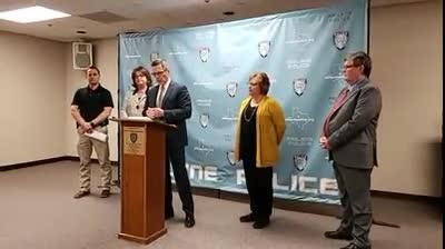 The domestic violence alliance in Abilene announced during a news conference on Jan. 30, 2019, new protocols to help victims of strangulation.
