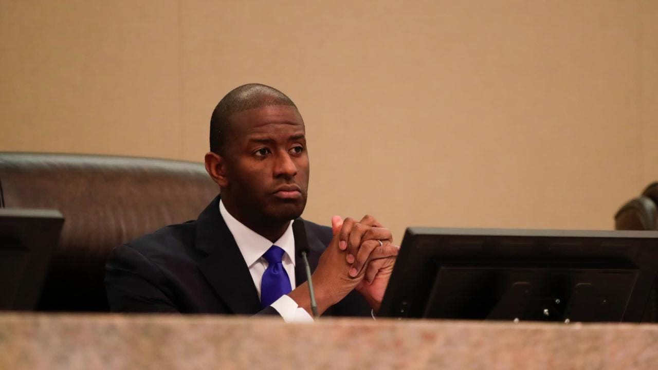 Former Tallahassee mayor Andrew Gillum spoke about his trips to New York and Costa Rica.