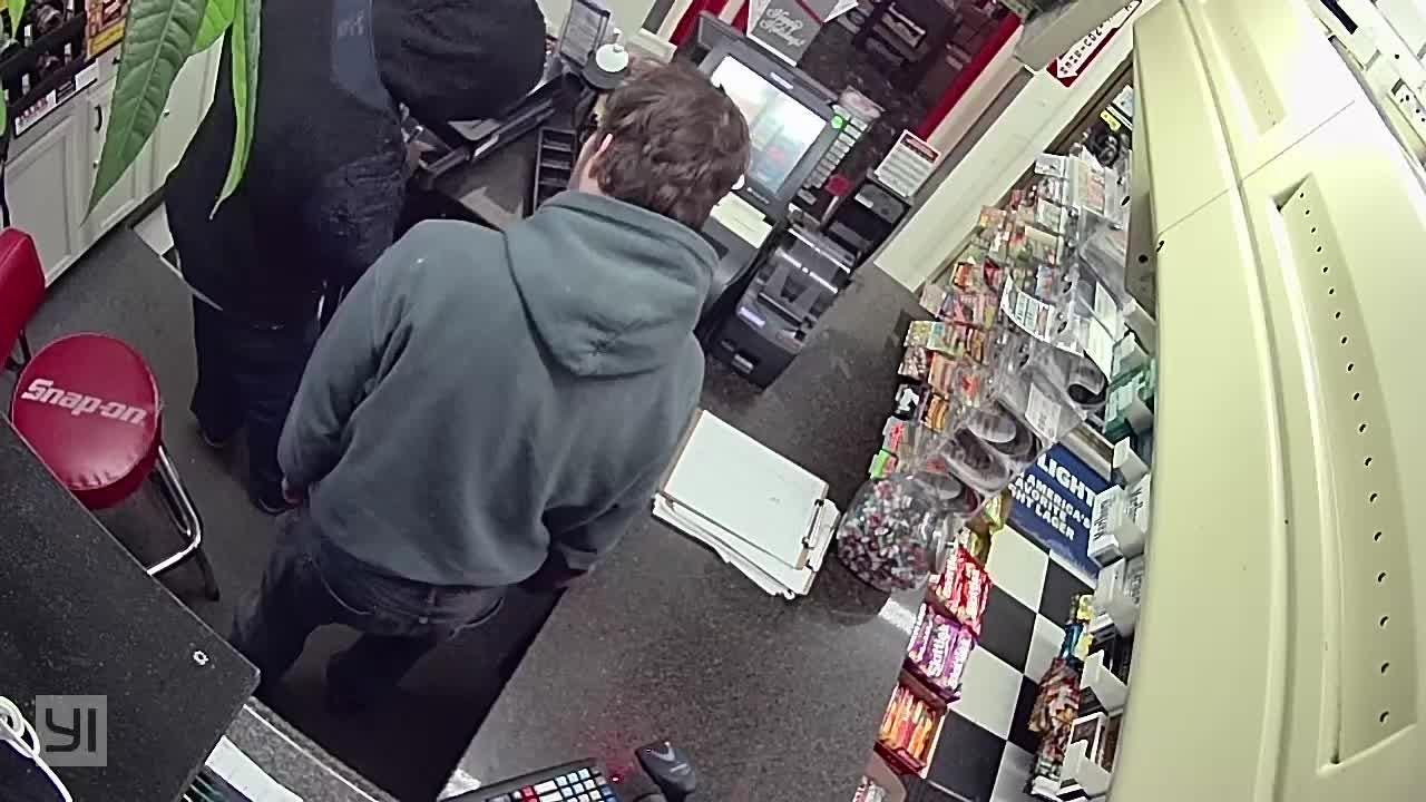 Surveillance video from the Dec. 29, 2018, armed robbery at HD Mart in CHILLICOTHE, Ohio.