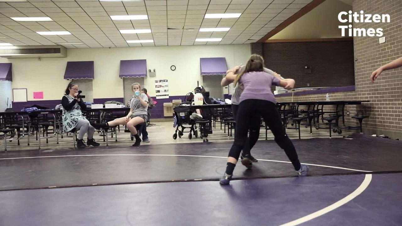The Relentless Wrestling girls wrestling program.