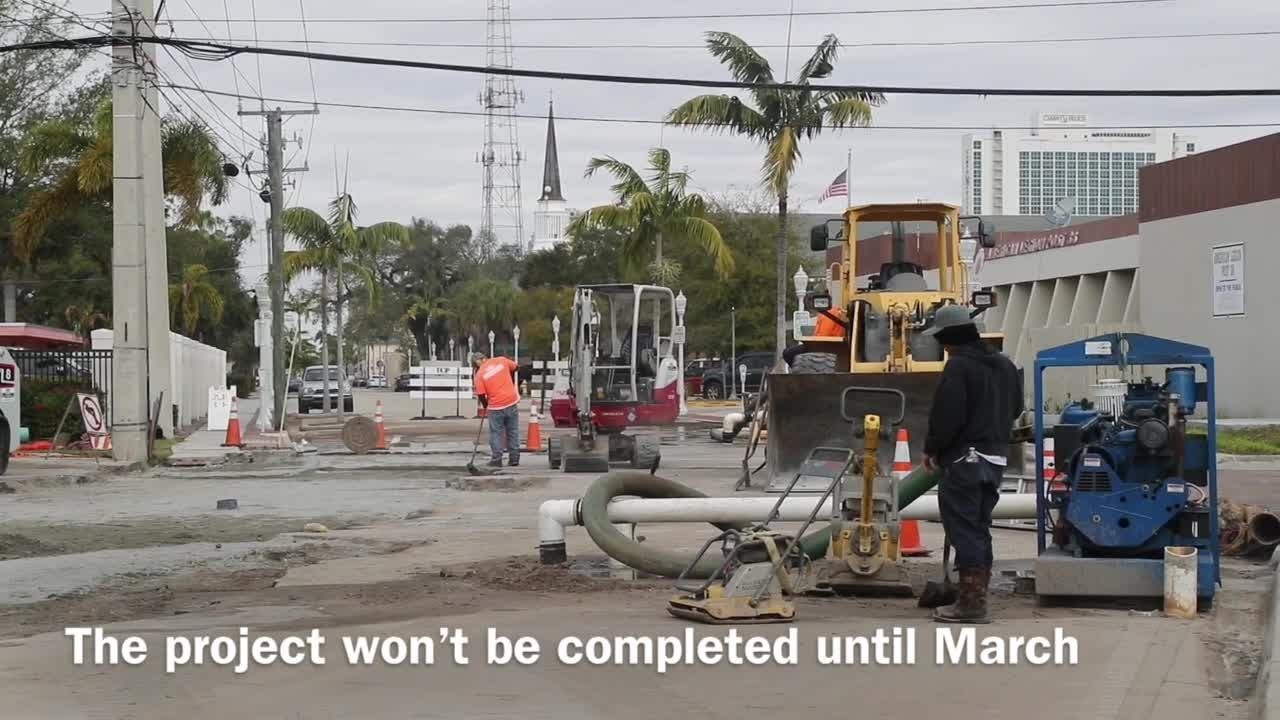 Many road construction projects have turned up across Fort Myers over the last few weeks. Some are slow-going while others are expected to be completed sooner.
