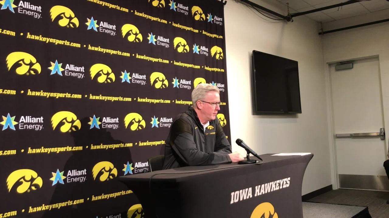 Iowa coach Fran McCaffery is impressed by No. 5 Michigan. Hear him explain why: