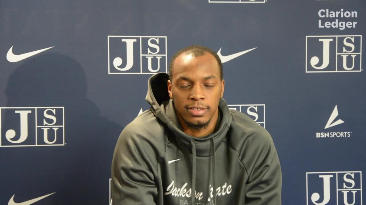 Jackson State grad transfer Chris Howell talks about adjusting to leadership role for the Tigers.