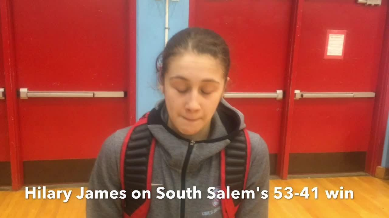 Hilary James scored 15 points to help South Salem's girls basketball team beat McNary 53-41 on Thursday. Both teams are now tied for first.