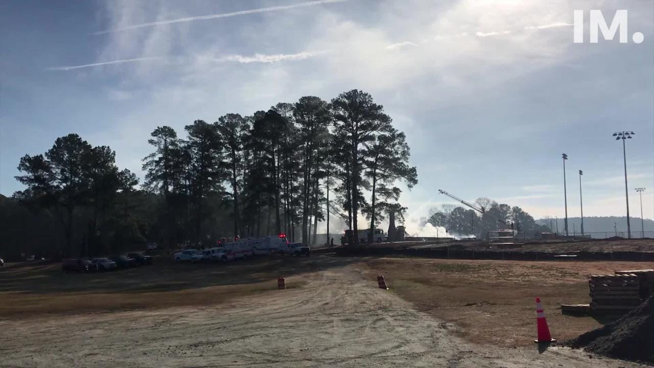 A fire tore through a building at the Snow Family Center on Clemson University's main campus, according to the University.
