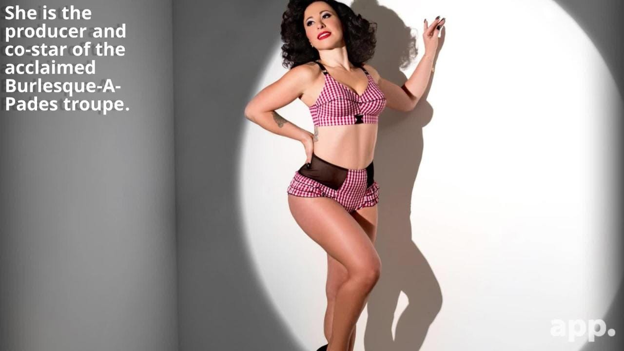 Burlesque performer and producer Angie Pontani discusses the empowering art form