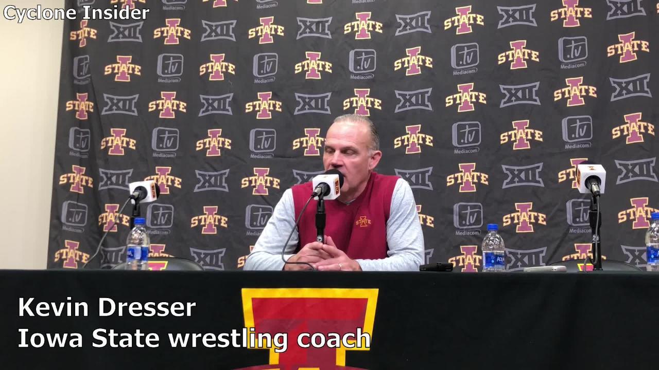 Iowa State coach Kevin Dresser recaps the Cyclones' win over South Dakota  State