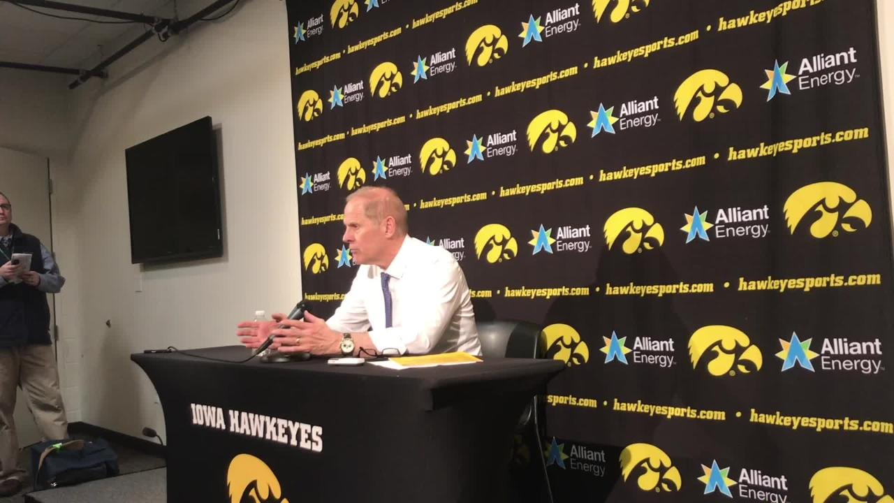 Michigan coach John Beilein has seen this play out before for his team at Iowa. Hear him explain the latest difficult loss: