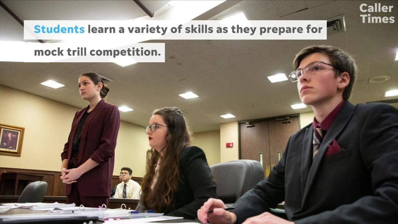 Students compete in Texas mock trial competition