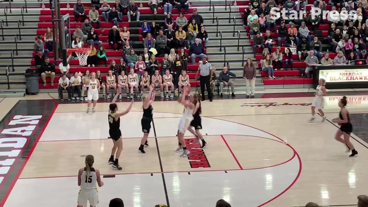 The Golden Bears' top plays from their win over Lapel in the Sheridan Sectional championship game.