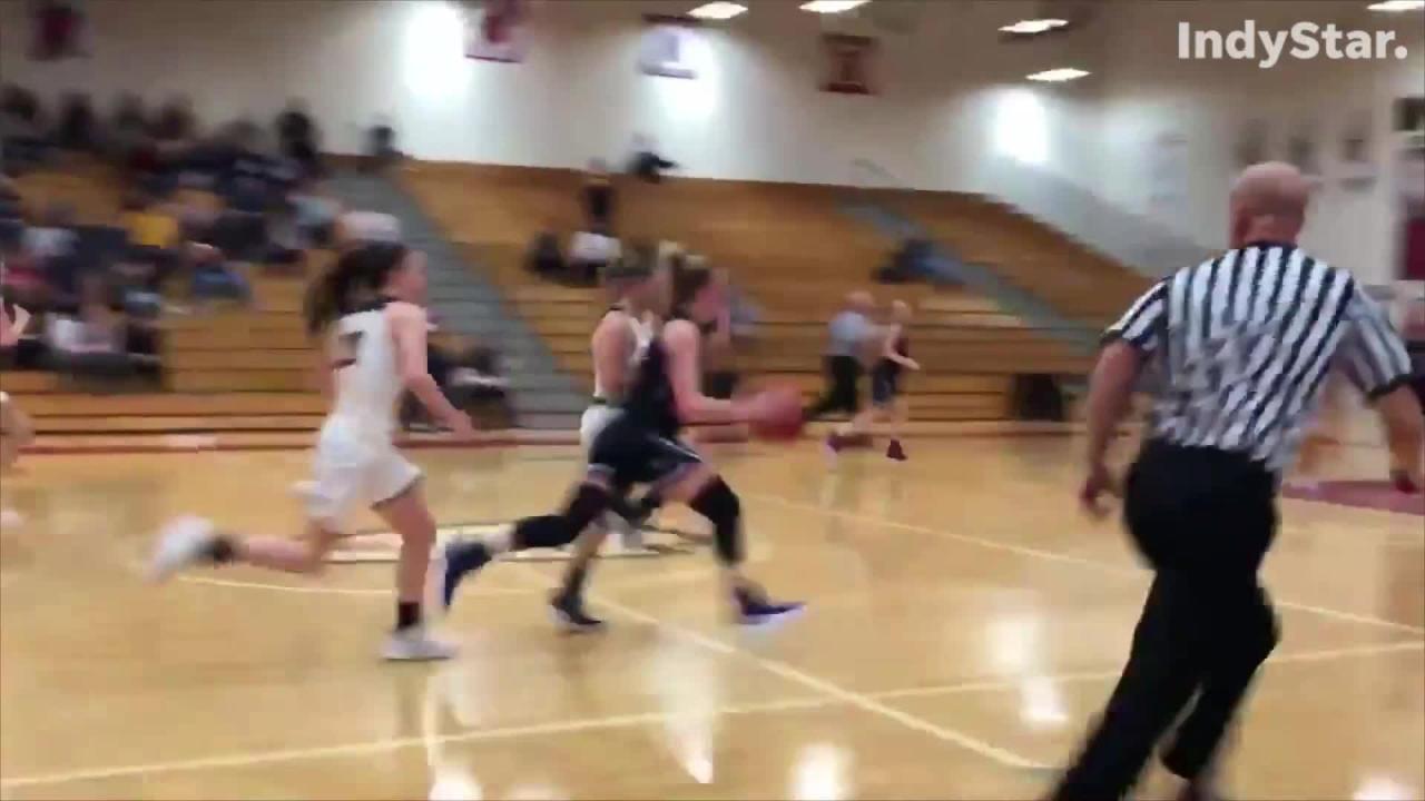 Girls Sectional Final Highlights Mooresville 57 Brownsburg 52