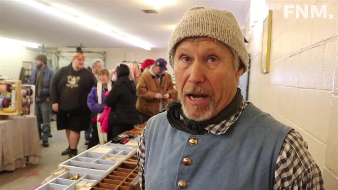 Historical reenactment enthusiasts and artisans gathered in Fremont for the 29th annual Living History Trade Fair at the Sandusky County Fairgrounds.