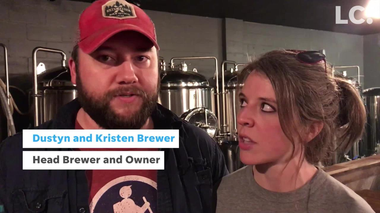 New downtown brewery features craft-brewed beers with a nod to Clarksville.