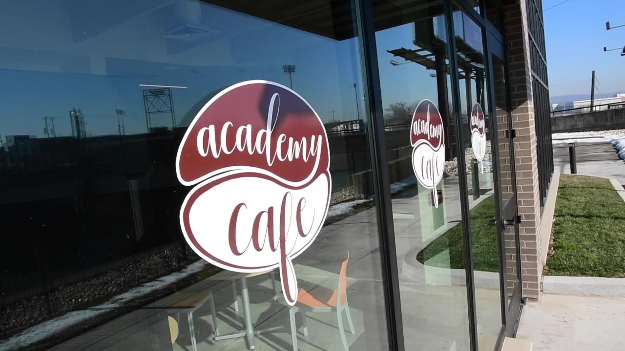 Academy Cafe, located inside York Academy Regional Charter School, along the Codorus, is hoping to open up in March.