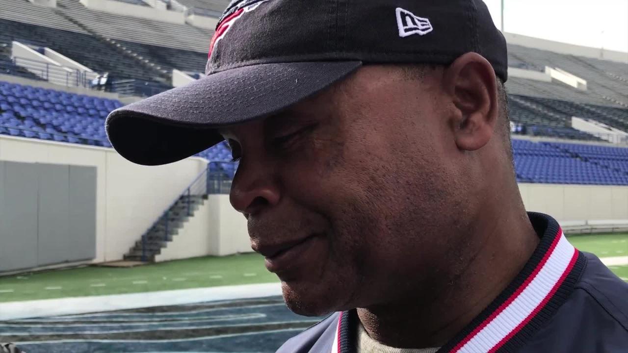 9ce3dbafcd NFL 100 commercial: Mike Singletary talks making of popular Super Bowl ad