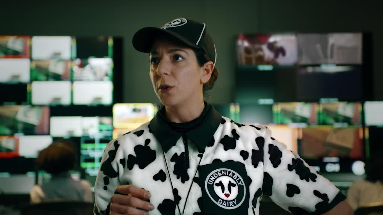 An entertaining video designed to extend Undeniably Dairy, which was created to grow trust and relevancy of dairy.