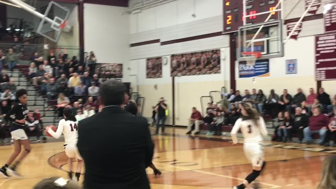 Newark fell in the final minute to nationally-ranked Africentric, led by Tennessee signee Jordan Horston.