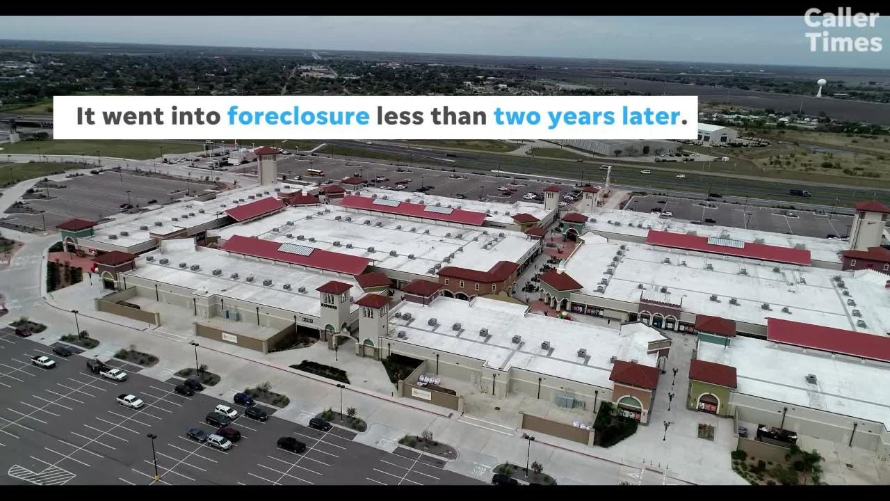 Officials for the Outlets at Corpus Christi Bay hope the Robstown shopping center can bounce back after its 2019 foreclosure.