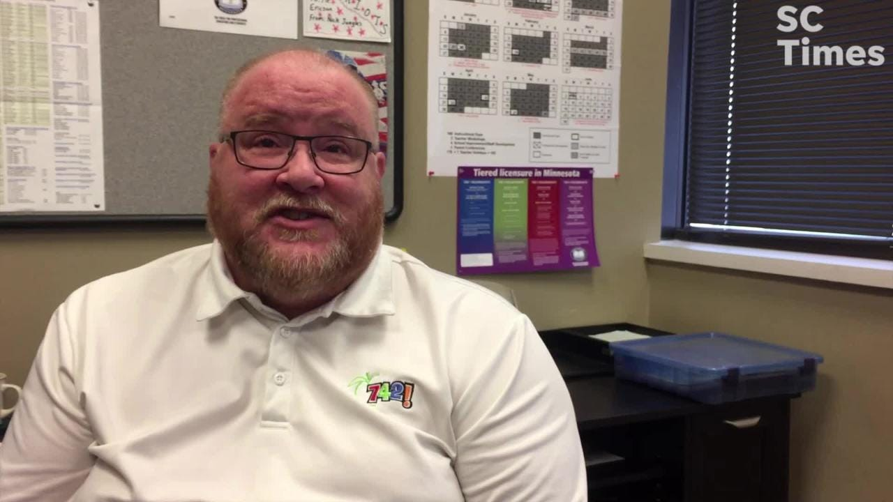 St. Cloud Education Association President Chris Erickson talks about how the shortage forces teachers to think twice about time out of the classroom.