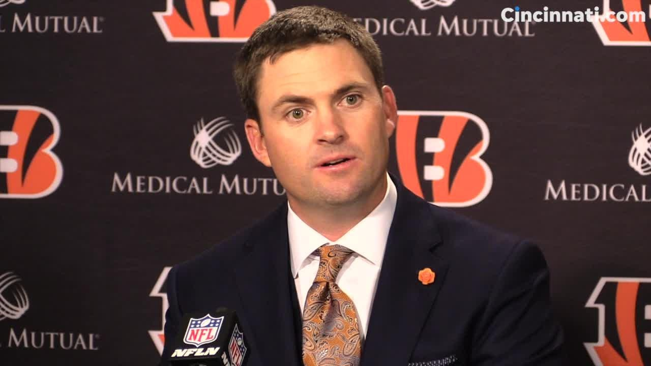 Highlights from the Cincinnati Bengals press conference to introduce new head coach Zac Taylor.