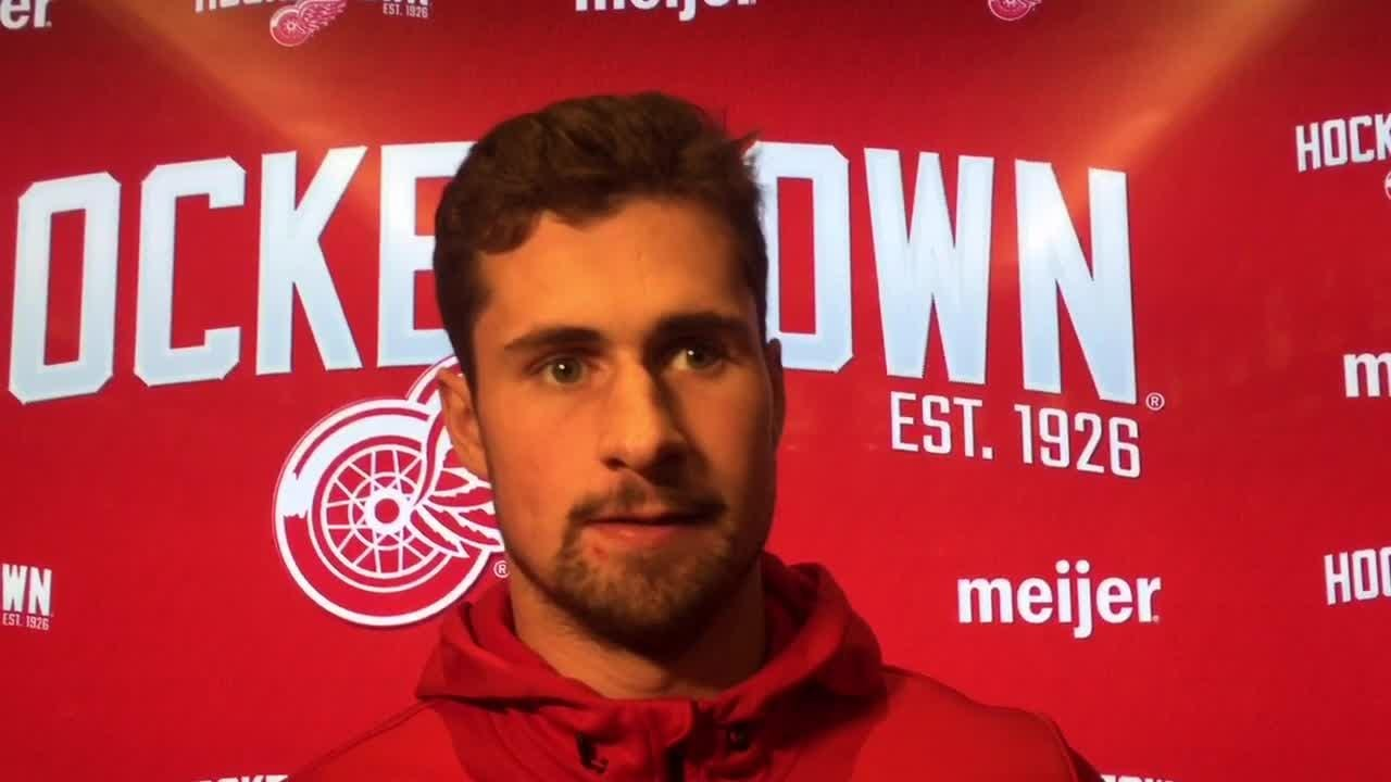 Red Wings might not be without their top player much longer. Filmed Feb. 5, 2019 in Detroit.
