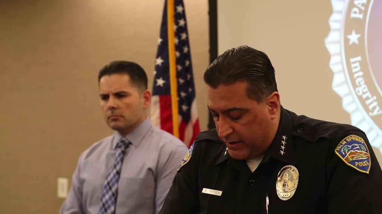 Palm Springs police reveal details as four were found dead in a homicide investigation in Palm Springs.