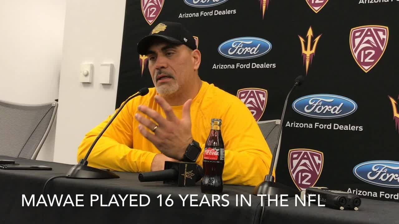 ASU offensive analyst Kevin Mawae on his selection to NFL Hall of Fame