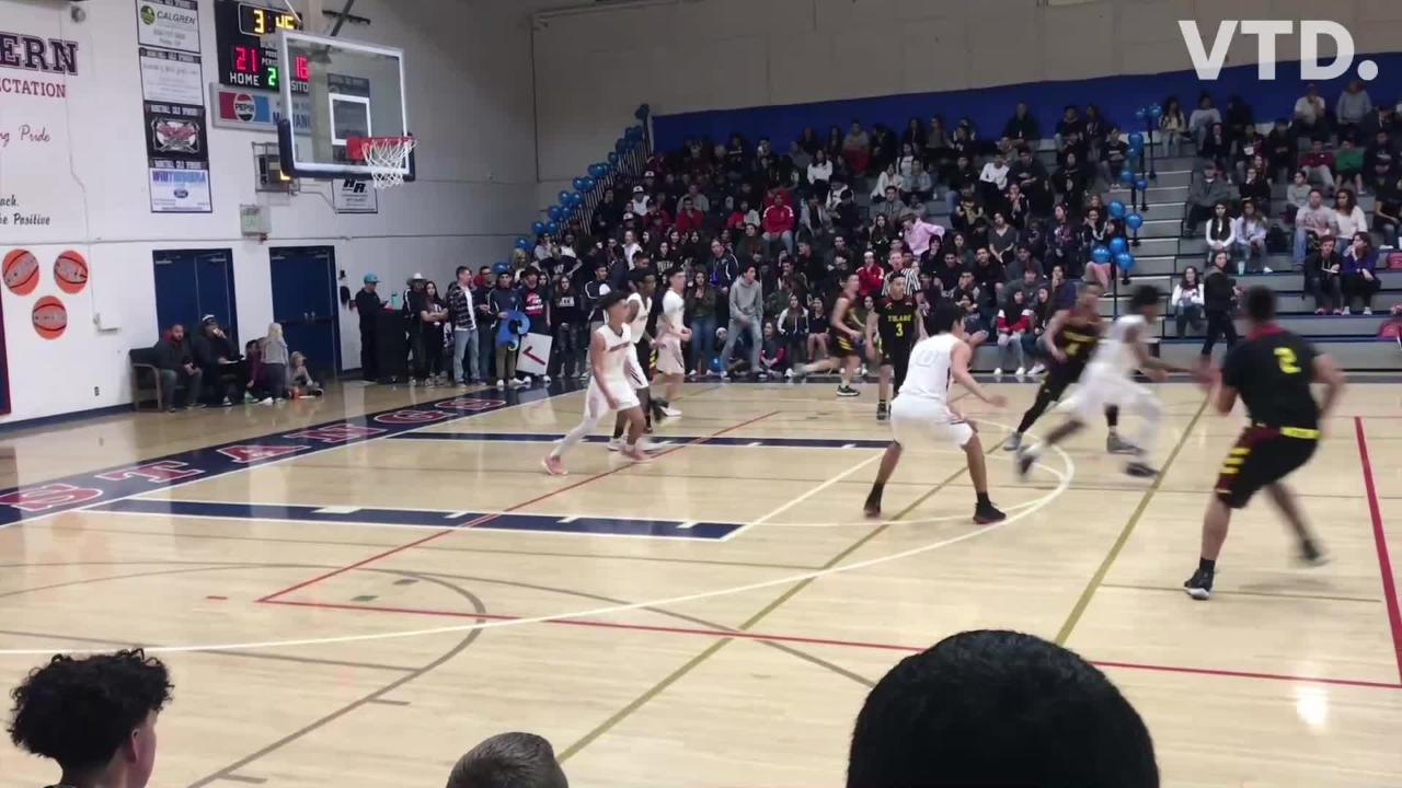 Tulare Union and Tulare Western met on Feb. 5, 2019 in an East Yosemite League high school boys basketball game.