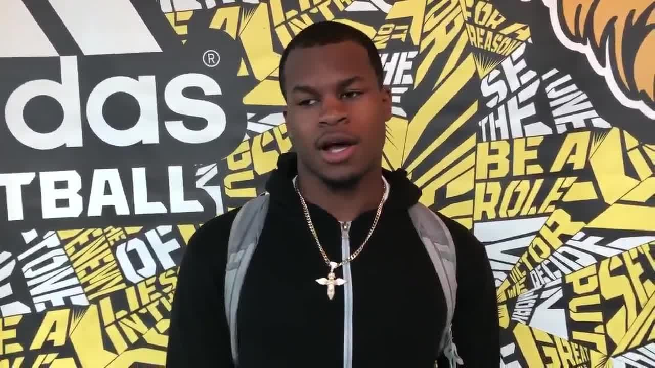 Marqui Johnson discusses the impact of his battle to get on the field and how it affected his recruiting.