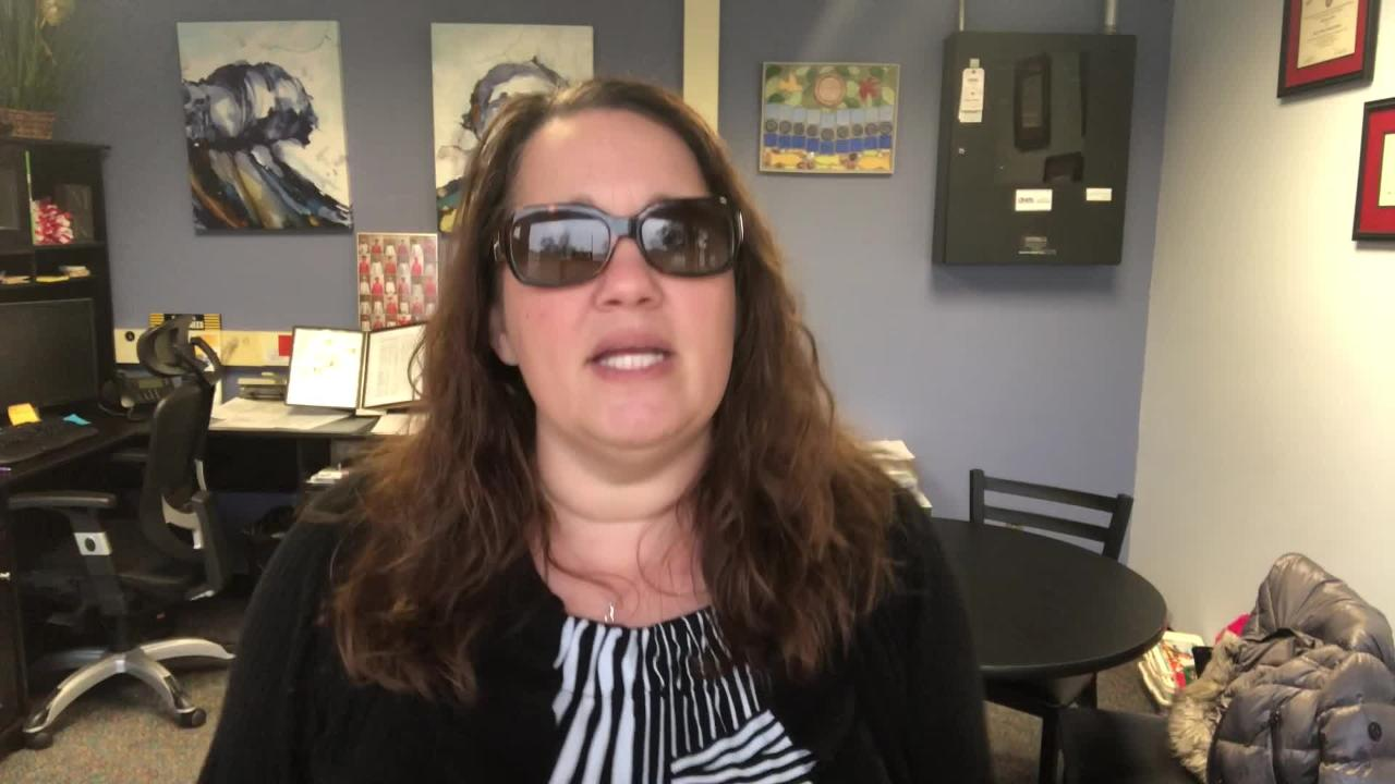 Literacy Academy at Cleveland principal Michelle Kristick commemorates each snow day with a parody music video of popular songs.