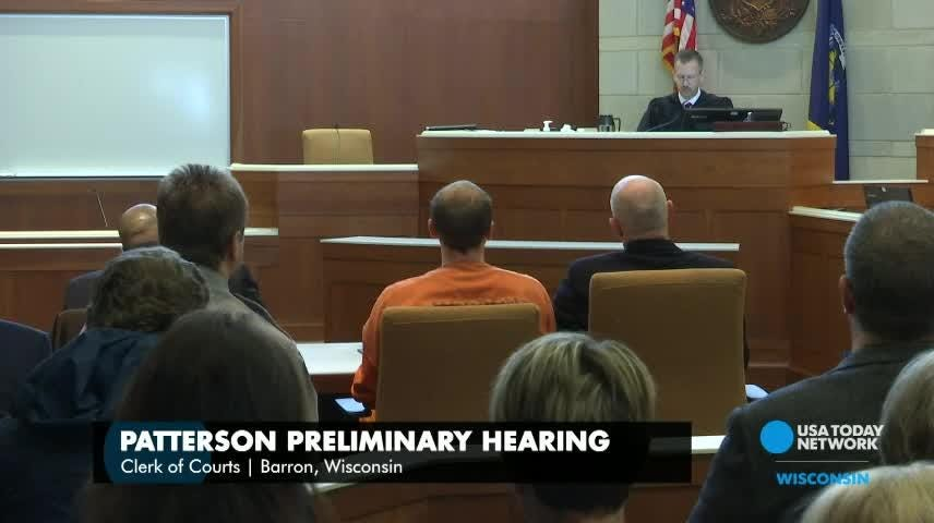 Jake Patterson, accused of kidnapping 13-year-old Jayme Closs and killing her parents, had a preliminary hearing Wednesday in Barron County Circuit Court.