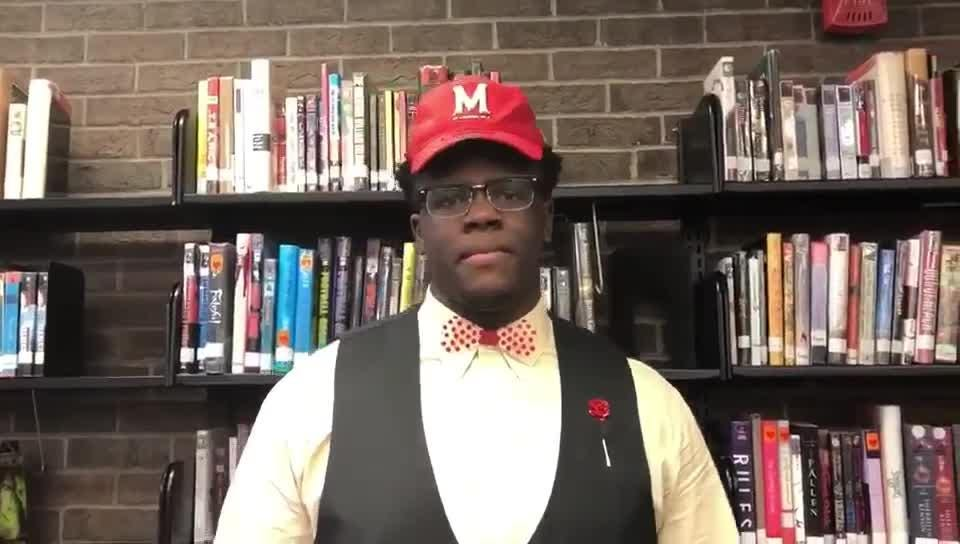Winton Woods'  Anthony 'Tank' Booker discusses the recruiting process and why he chose Maryland Terrapin football.