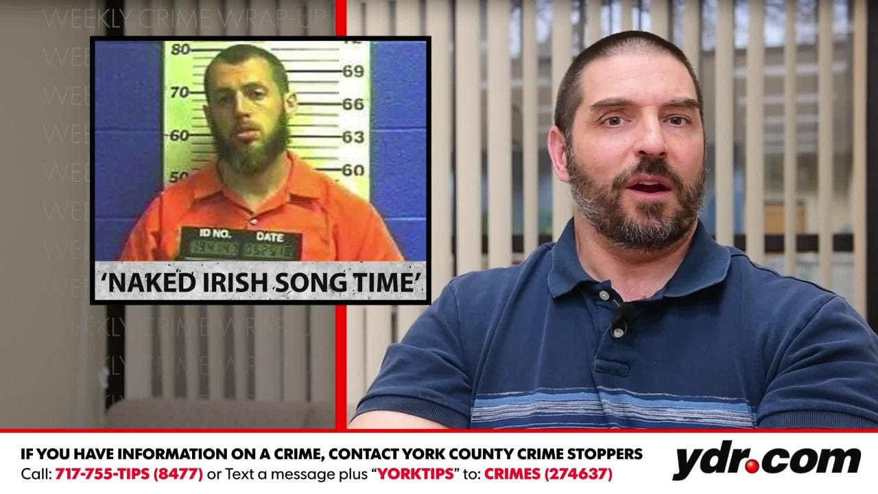 YDR crime reporter Ted Czech recaps some of the more bizarre crime stories recently.