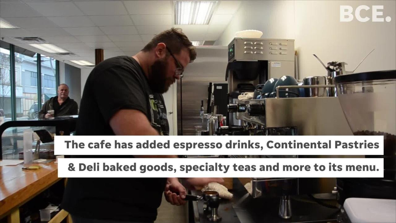 The coffee shop reopened starting Wednesday, Feb. 6, at kiCH(ə)n, the new retail food service incubator at 80 West Michigan Ave.