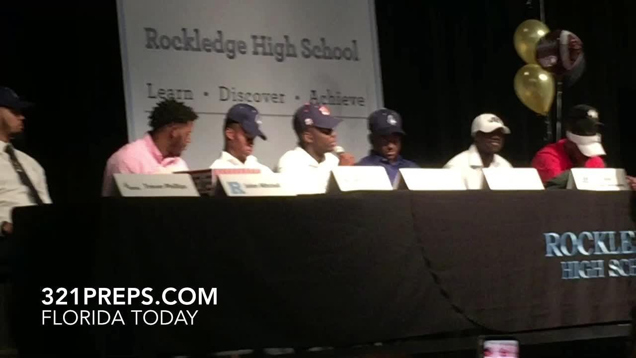 Rockledge football's O.C. Brothers chose Auburn on National Signing Day. Posted Feb. 6, 2019.