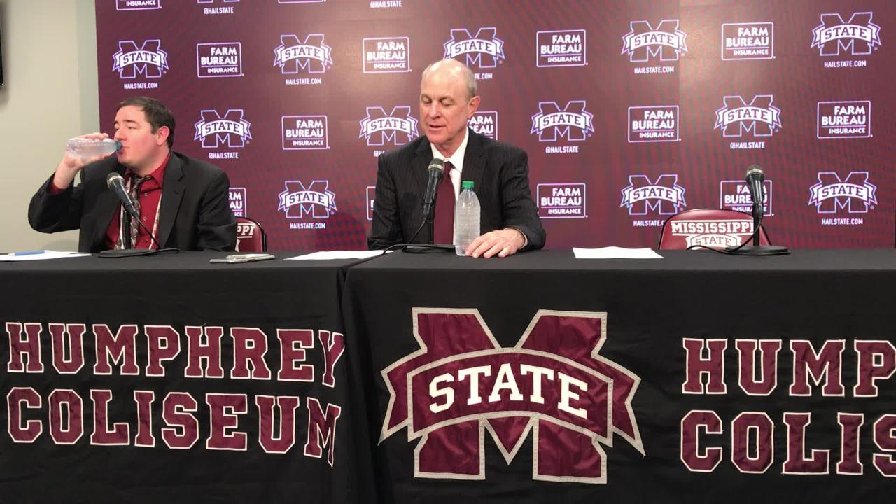 Mississippi State head coach Ben Howland recaps loss to LSU.