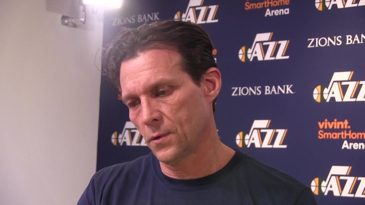 Phoenix Suns coach Igor Kokoskov and Utah Jazz coach Quin Snyder talk about their friendship that dates back 20 years ago.