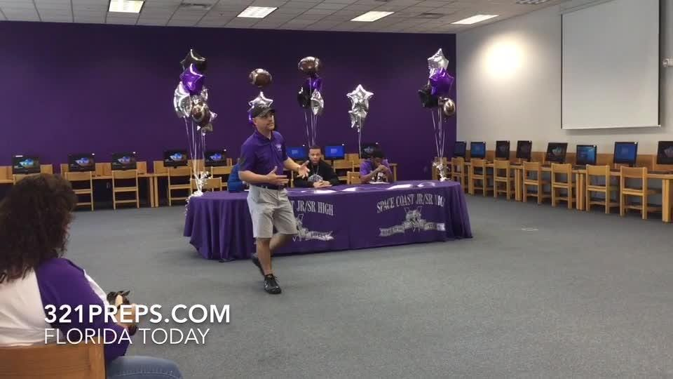 Signing day video from Heritage, Space Coast and Rockledge. Posted Feb. 7, 2019.