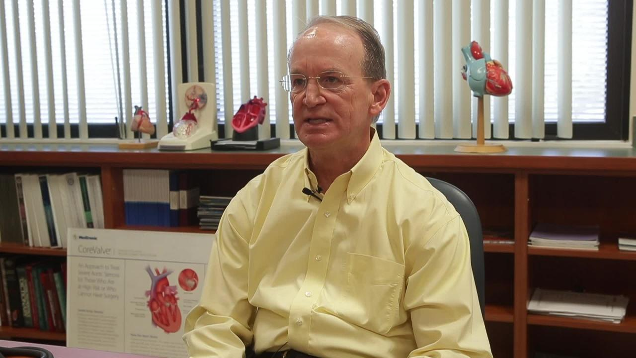 Dr. David Smith, cardiologist and board certified lifestyle medicine specialist at Tallahassee Memorial Hospital.