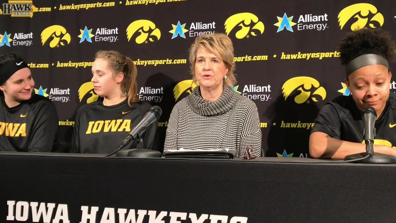 Lisa Bluder: 'Our focus was amazing.'