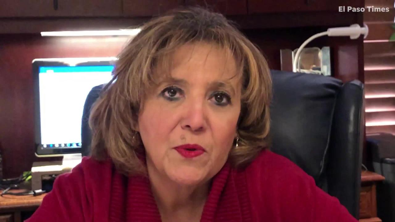 El Paso Hispanic Chamber of Commerce CEO Cindy Ramos-Davidson CEO talks about President Donald Trump's visit to the border.
