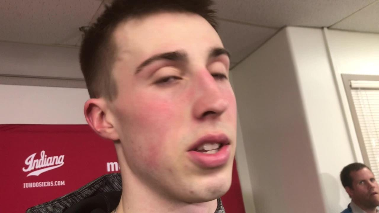Iowa freshman Joe Wieskamp was aggressive from the get-go against Indiana. But then he had to rein himself in as things changed. Listen:
