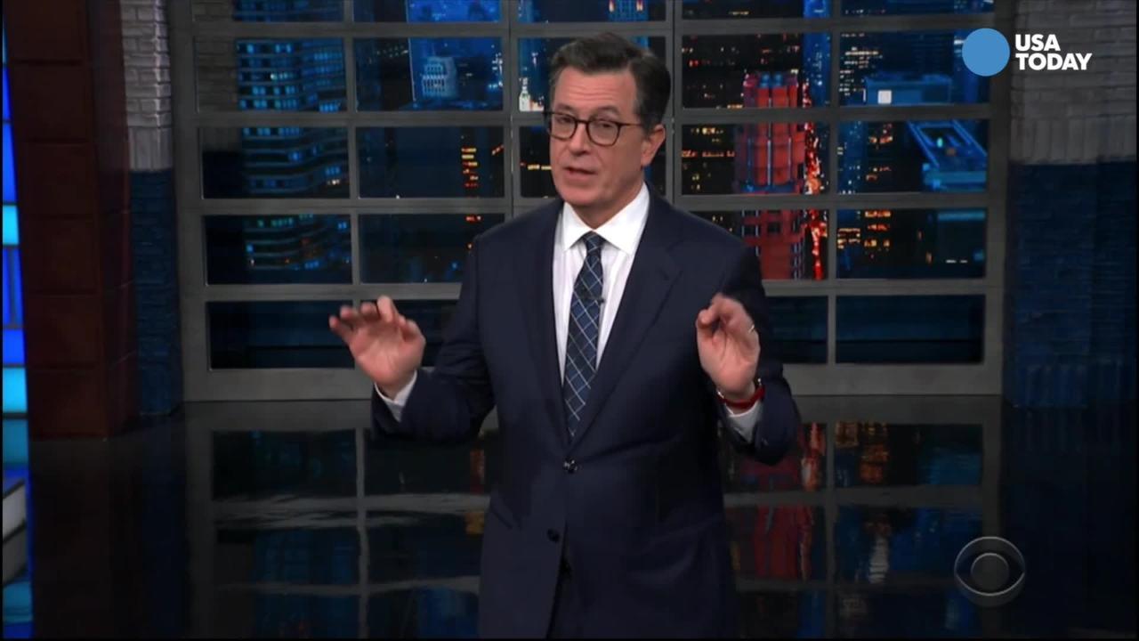 Colbert: Trump accidentally revealed his future agenda at Prayer Breakfast