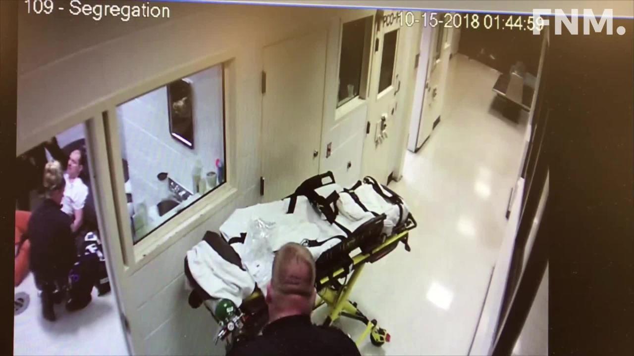 Daniel Myers jail incident