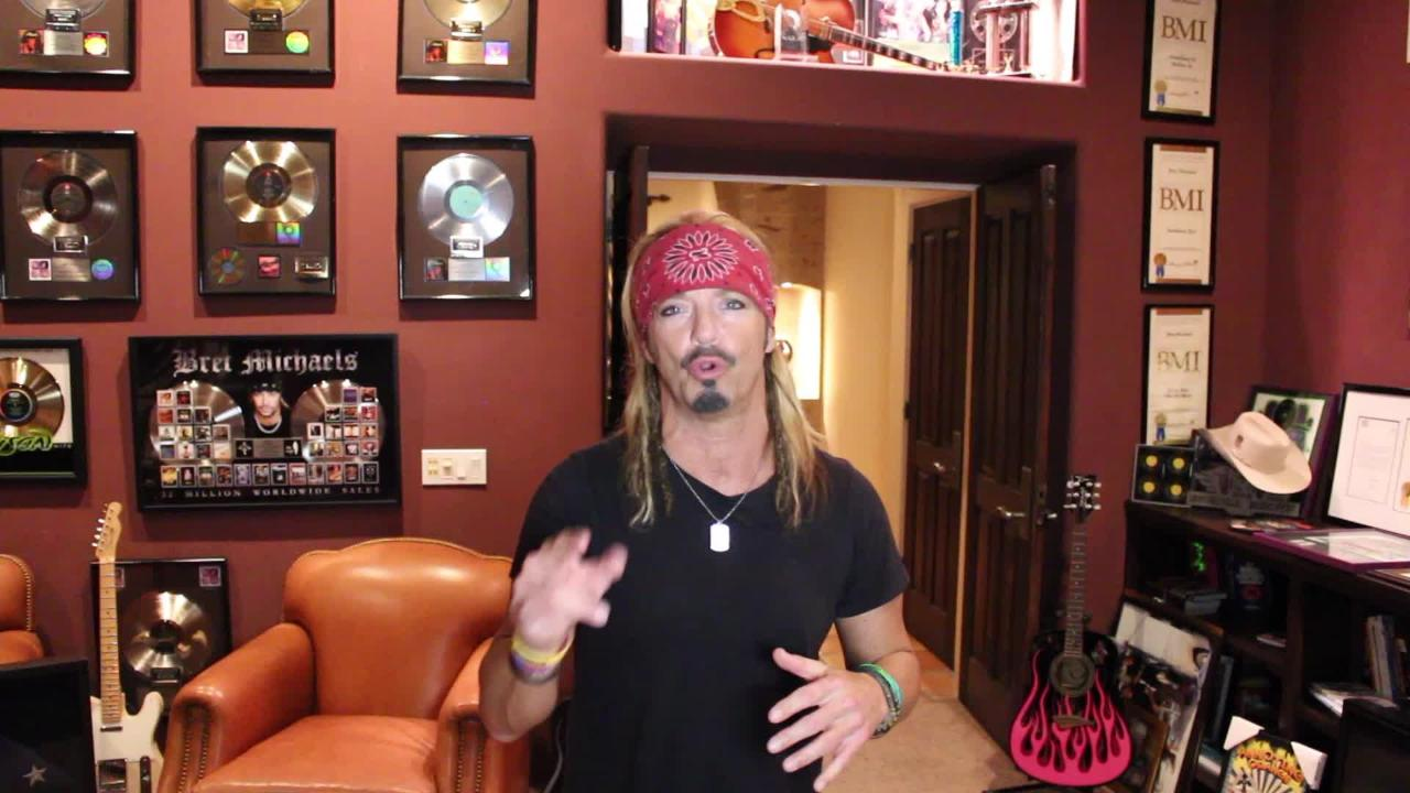 Poison frontman Bret Michaels will play the final concert at the arena on April 6.