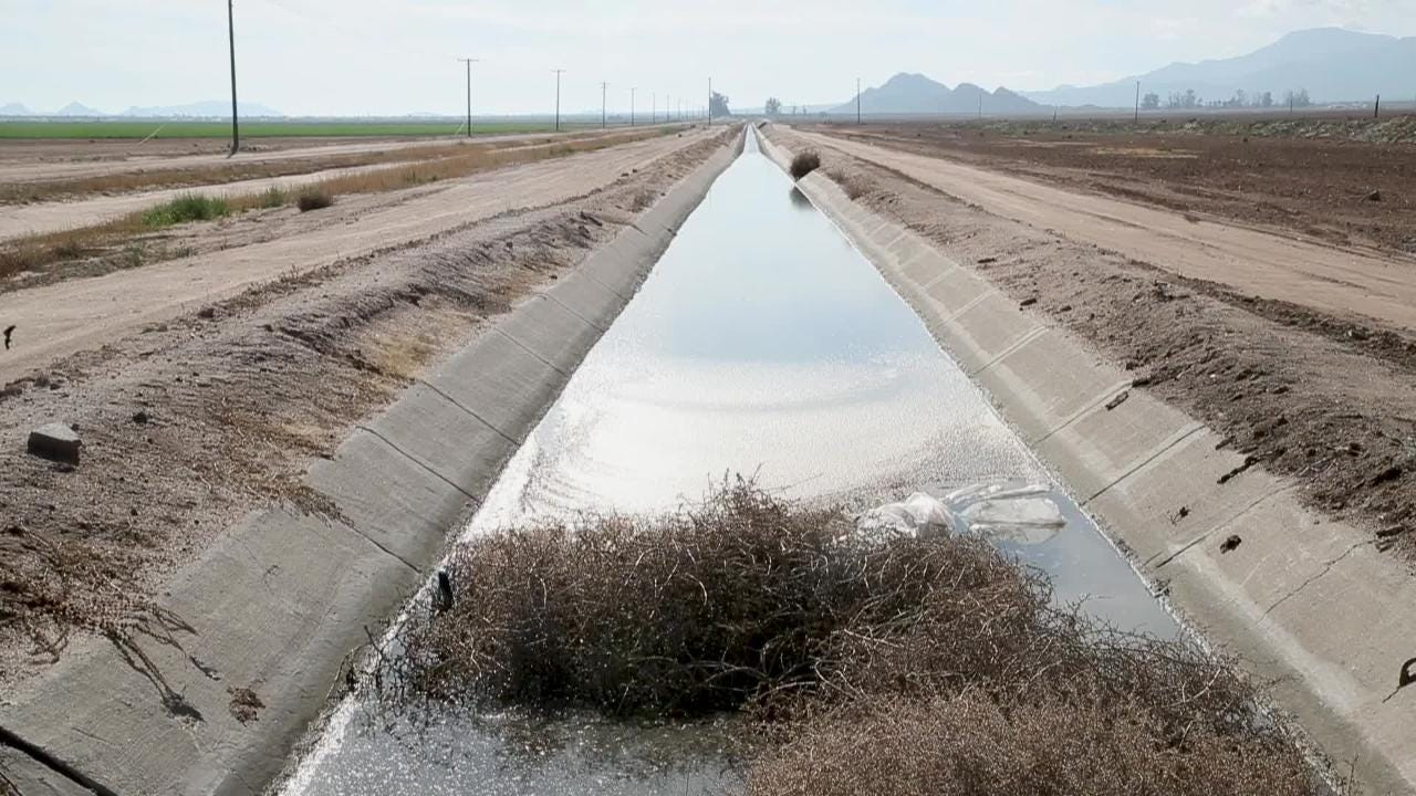 The reservoir of good cheer is running low with Robert Robb and the drought contigency plan.