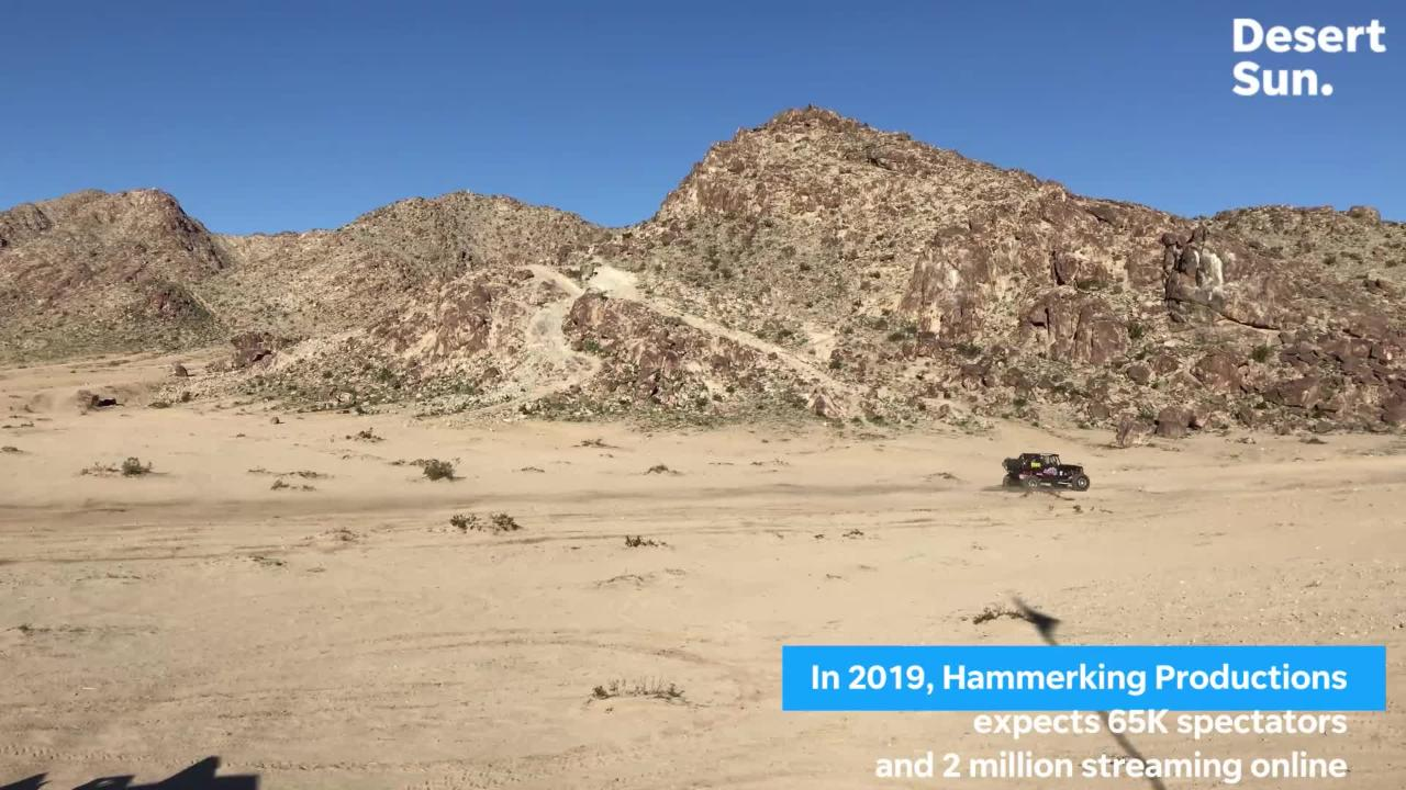 """Arturo """"Art"""" Soria and Team A-OK from Indio take on the King of the Hammers."""